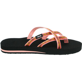Teva Olowahu Sandals Women sari ribbon apricot